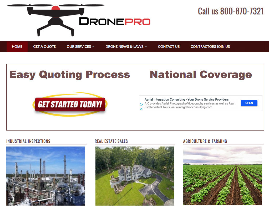 Drone Jobs - Inspection, Advertising, Agriculture, Real