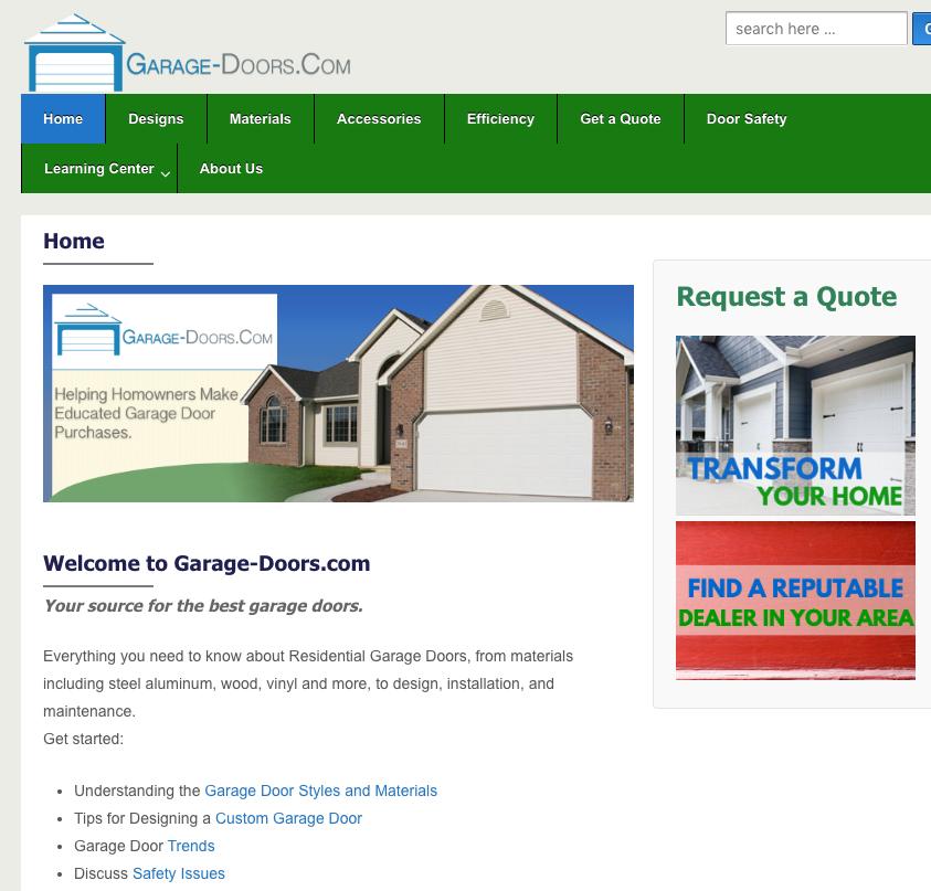garage door jobs